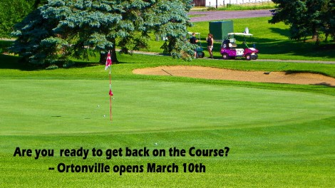 Golf Course Hole Opening March 10